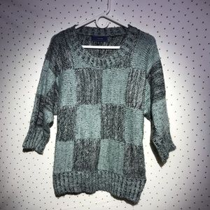 Anthropologie Lumiere Chunky Knit Ovrsized Sweater